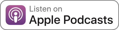 Apple Podcasts logo button