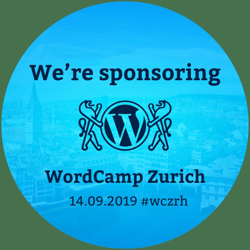 WITTIGONIA digital unterstützt das WordCamp Zurich als Sponsor