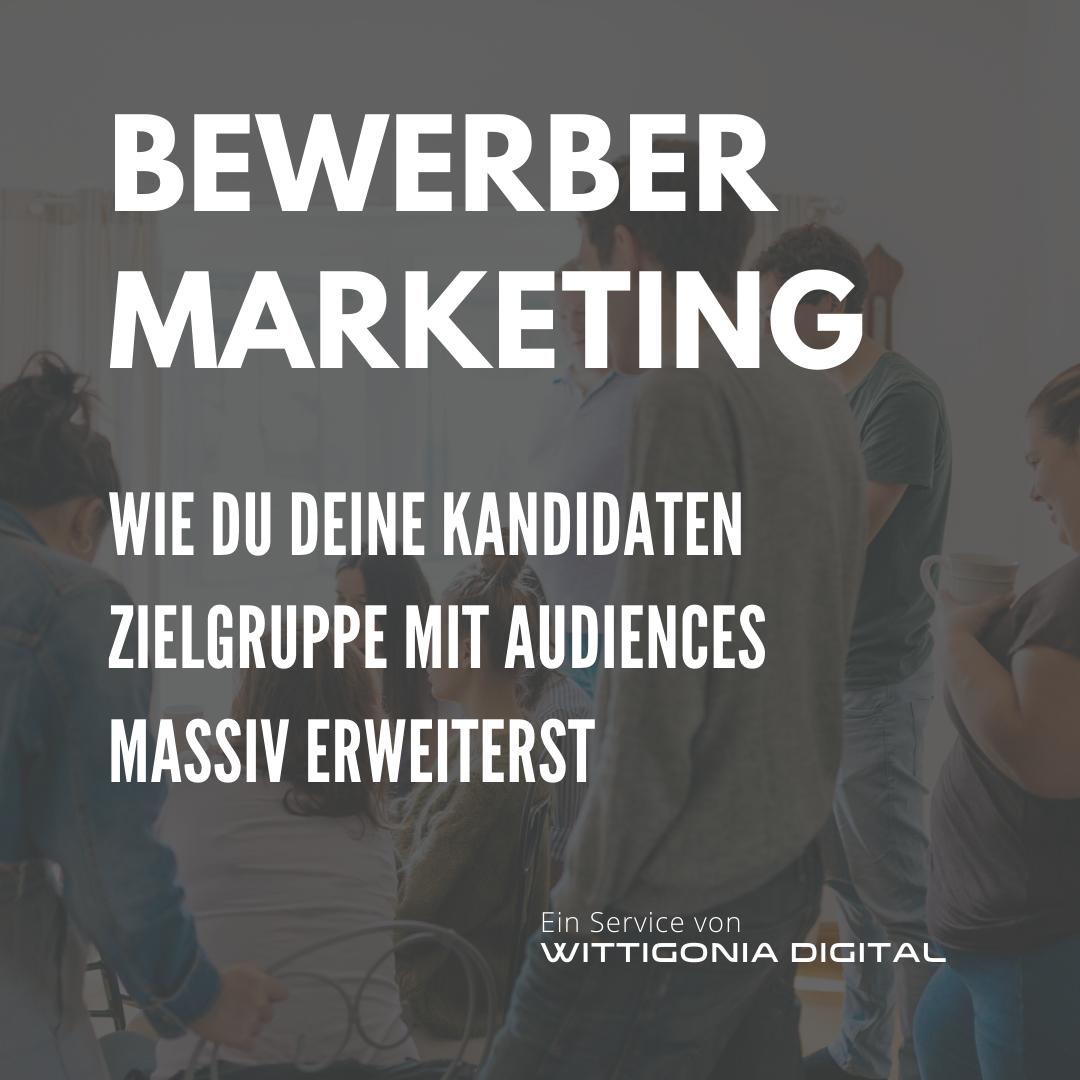 Bewerber Marketing