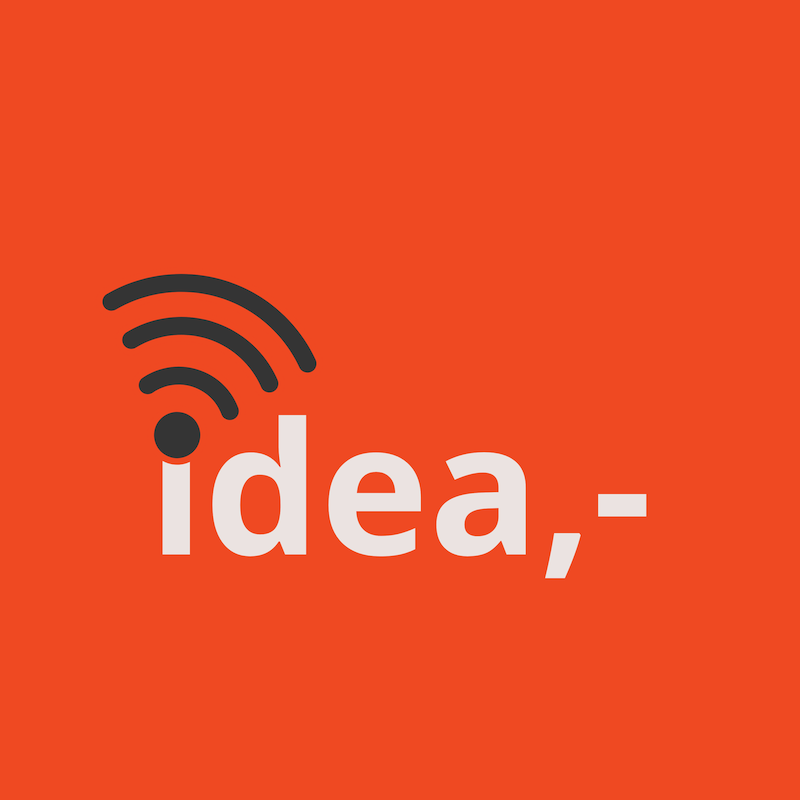 idea cast logo button